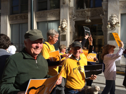 Members Marching