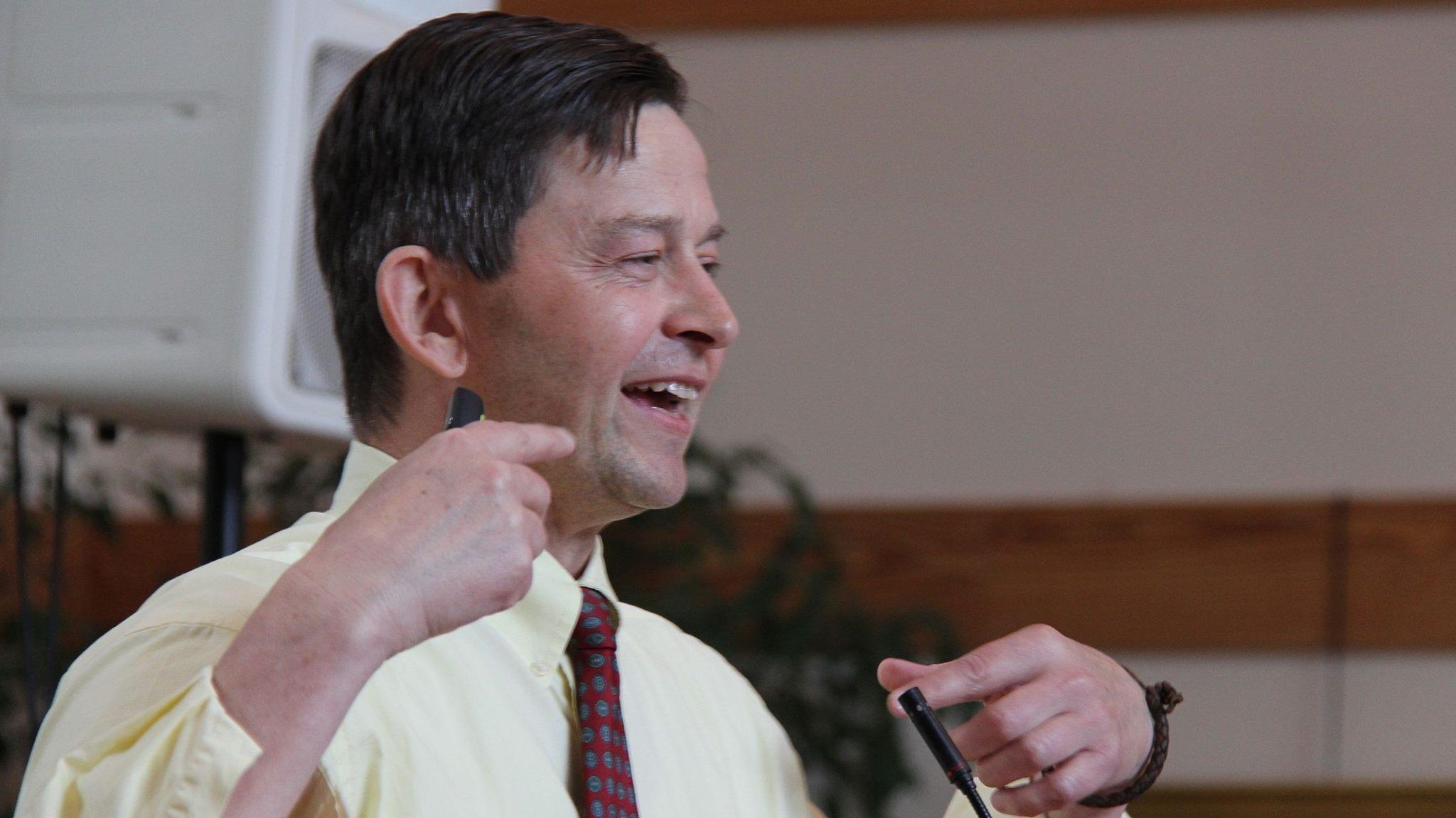 Dave Dunn Giving a Sermon