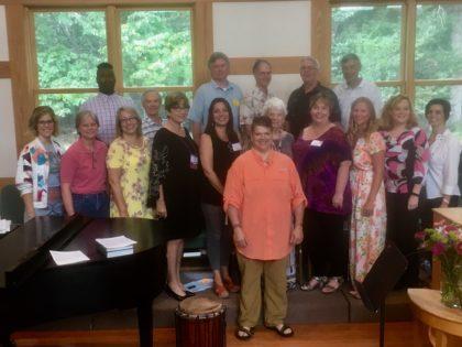 Photo of Chalice Choir and Alex Pietsch